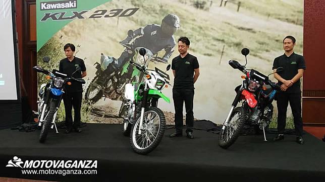 Kawasaki KLX230 Meluncur, Launch Price Hanya di Jakarta Fair 2019