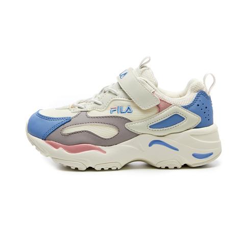 FILA RAY TRACER KD 大童運動鞋-粉藍色 3-C142V-527