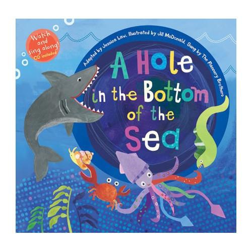 【麥克書店】A HOLE IN THE BOTTOM OF THE SEA 歌唱繪本 英文繪本 故事書 繪本 有聲書Discover amazing and fascinating sea creat