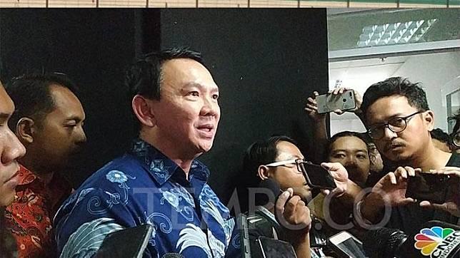 Former Jakarta governor Basuki Tjahaja Purnama (Ahok). TEMPO/Friski Riana