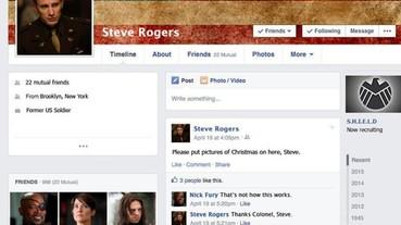 如果「復仇者聯盟」有臉書 結果大概會是這個樣子...