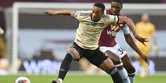 Penyerang Manchester United, Anthony Martial. (c) AP Photo