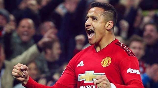 Penyerang Manchester United, Alexis Sanchez
