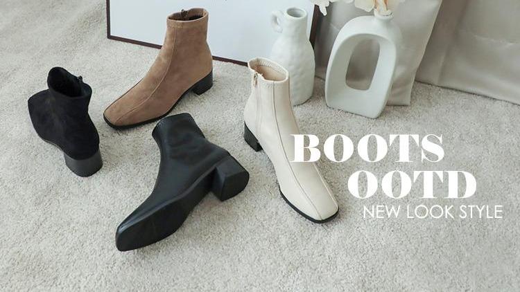時髦短靴推薦!3大趨勢一次看