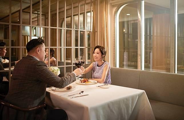 晚上重頭戲,當然是與愛侶共赴1號扒房,享受由澳洲名廚Mark Best設計的情人節晚餐。(互聯網)