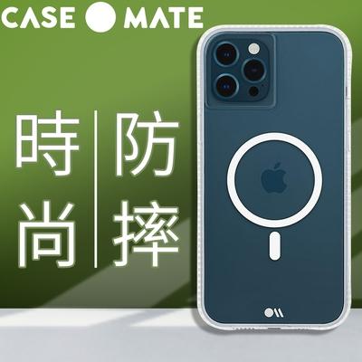 美國 Case●Mate iPhone 13 Pro Max Tough Clear Plus 環保抗菌防摔加強MagSafe專用版手機保護殼