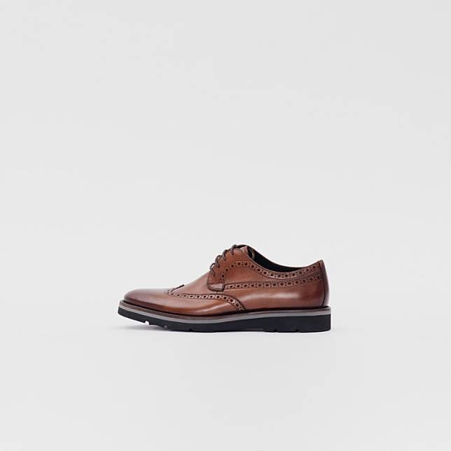 le saunda Brogue Derby Shoes(互聯網)