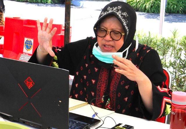 Wali Kota Surabaya Imbau Warganya Biasakan Berjemur Pagi dan Sore