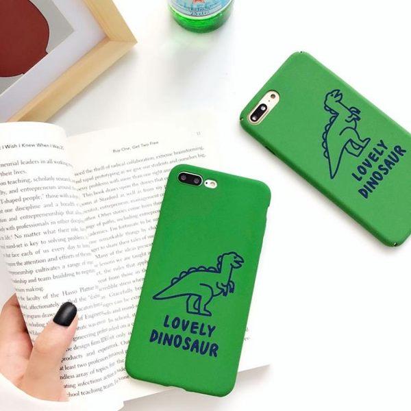 可愛小恐龍ins風小米8se手機殼軟硬殼