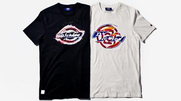 上市-CLOT x Dickies Torn & Shuimo T-Shirts