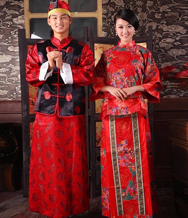 15 for Traditional chinese wedding dress hong kong