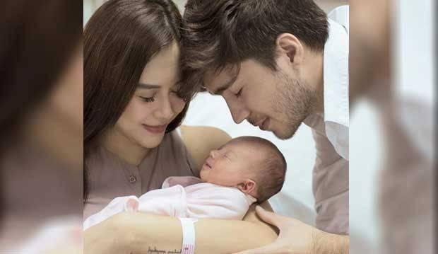 Aura Kasih Akhirnya Umumkan Nama Anak