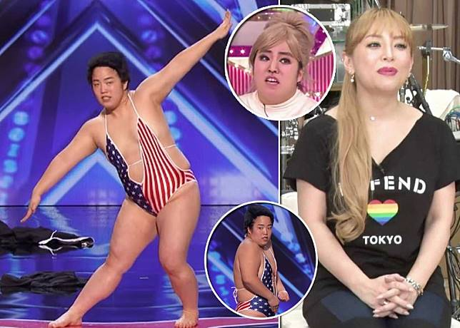 曾扮濱崎步的女諧星Yuriyan Retrieve登上《全美一叮》。