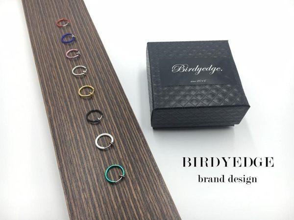 【Birdy Edge】 圓圈 圓環 鼻環 耳環 假體 耳環 無須耳洞 唇環 耳骨 環 買一送一