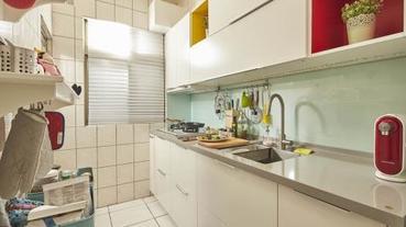 改造15 年中古廚房,成就完美餐廚空間夢想