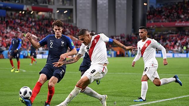 """เปิด 7 สถิติหลังเกม """"ฝรั่งเศส"""" เขี่ย """"เปรู"""" ร่วงตกรอบ """"ฟุตบอลโลก 2018"""""""