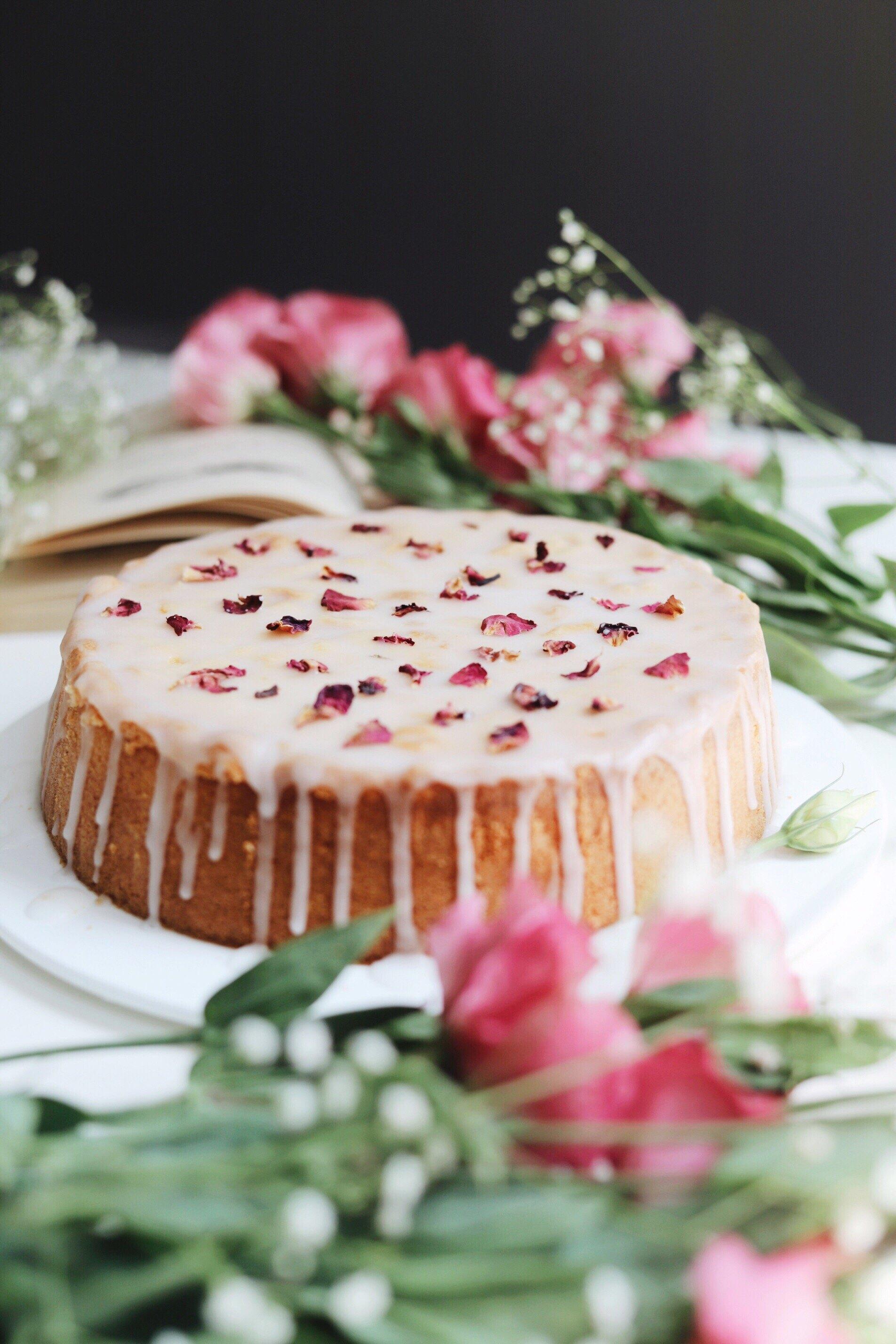 【植愛】玫瑰磅蛋糕