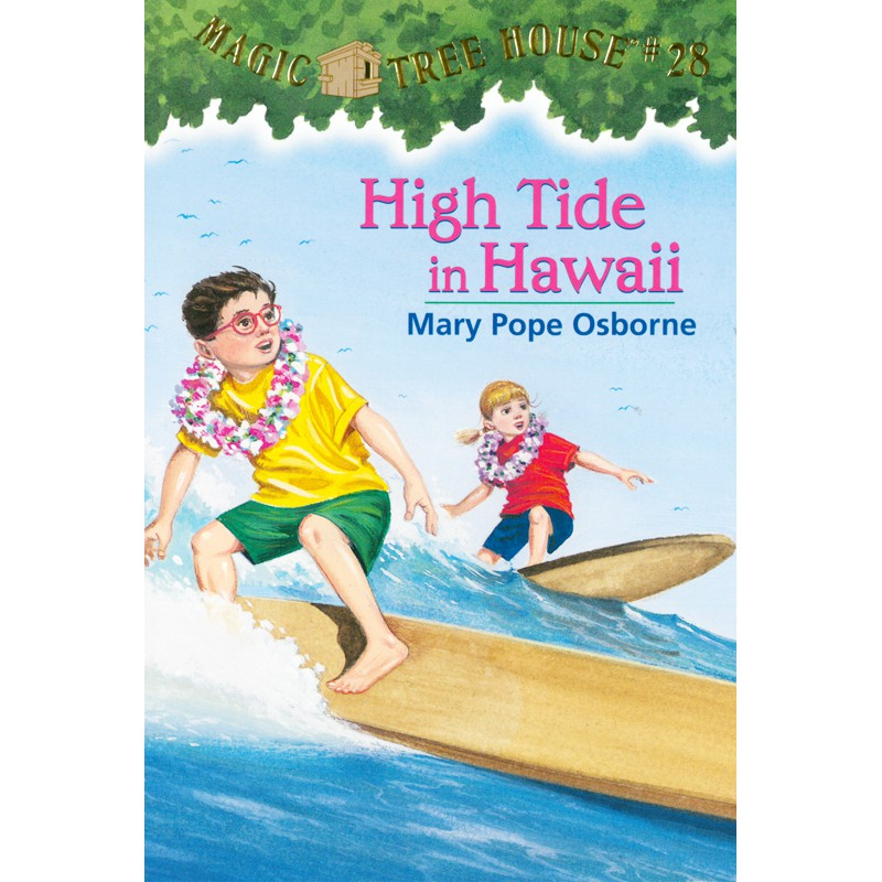 Magic Tree House 28: High Tide in Hawaii書號:0170226ISBN:9780375806162作者:Mary Pope Osborne出版日期:2003 年
