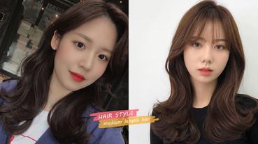 韓國髮型師推薦「中長髮捲度」範本!2020大勢中長髮髮型圖鑑,不同捲度變化差異詳解