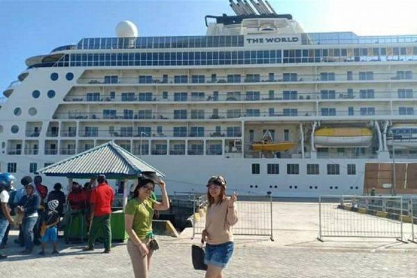 Kapal Cruise MV The World
