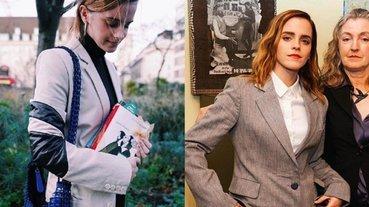快去撿!艾瑪華森在街頭偷藏 100 本《小婦人》小說免費贈送,內夾她的親筆字條!