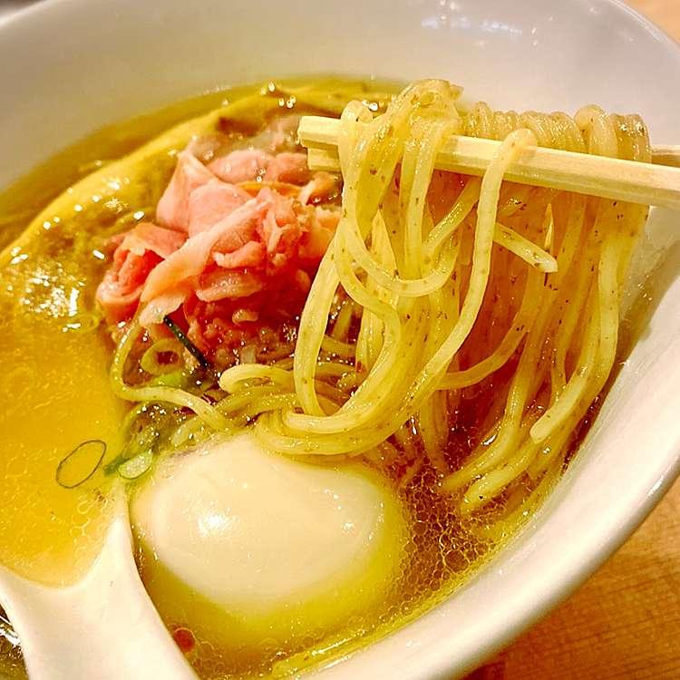 ユーザーが投稿した味玉醤油の写真 - 実際訪問したユーザーが直接撮影して投稿した歌舞伎町ラーメン・つけ麺らぁ麺 鳳仙花の写真
