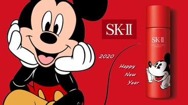SK-II推超可愛限量版「米奇青春露」!2020鼠年最犯規聯名就是它!