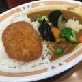 温野菜カレー - 実際訪問したユーザーが直接撮影して投稿した西新宿カレーカレーショップC&C 新宿本店の写真のメニュー情報