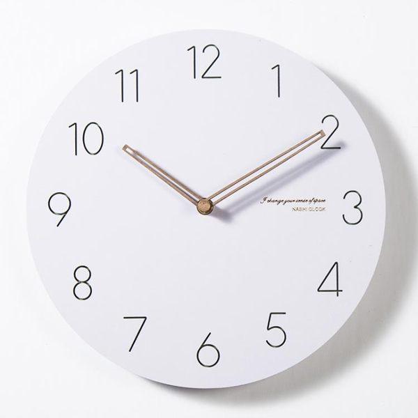 店長推薦 時尚石英鐘表時鐘掛鐘北歐客廳現代簡約個性大氣創意臥室靜音掛表