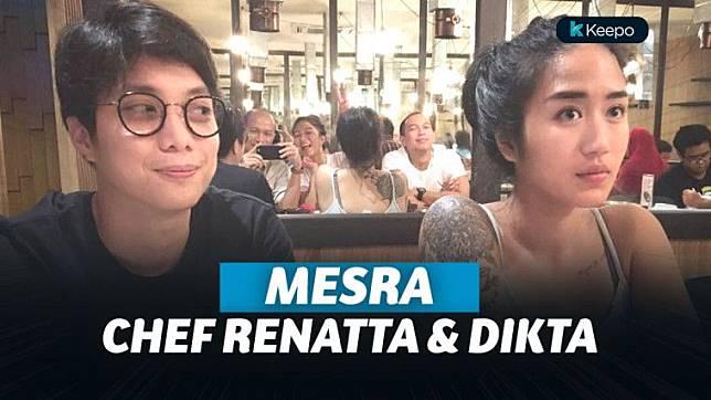 7 Momen Kedekatan Chef Renatta dan Pradikta Wicaksono