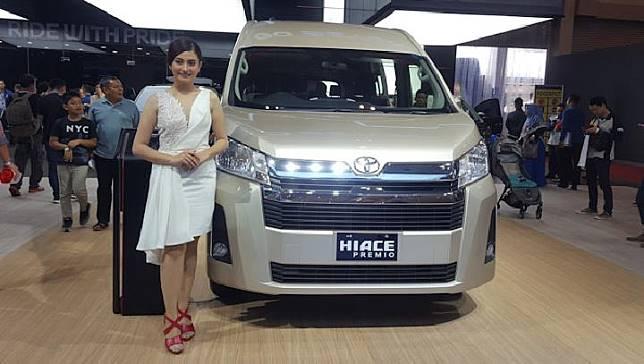 PT Toyota Astra Motor meluncurkan Toyota Hi Ace terbaru di Ajang GIIAS 2019 di ICE BSD Jumat 26 Juli 2019. TEMPO/Eko Ari Wibowo