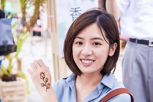 「學姊」黃瀞瑩。(圖 / 翻攝黃瀞瑩臉書)