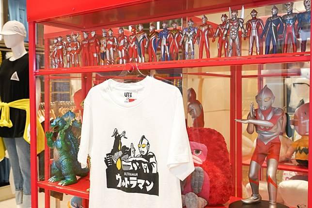 橫濱Bayside店全球率先發售鹹蛋超人(Ultraman)UT系列,店內更設有Figure專櫃畀大家欣賞。(互聯網)