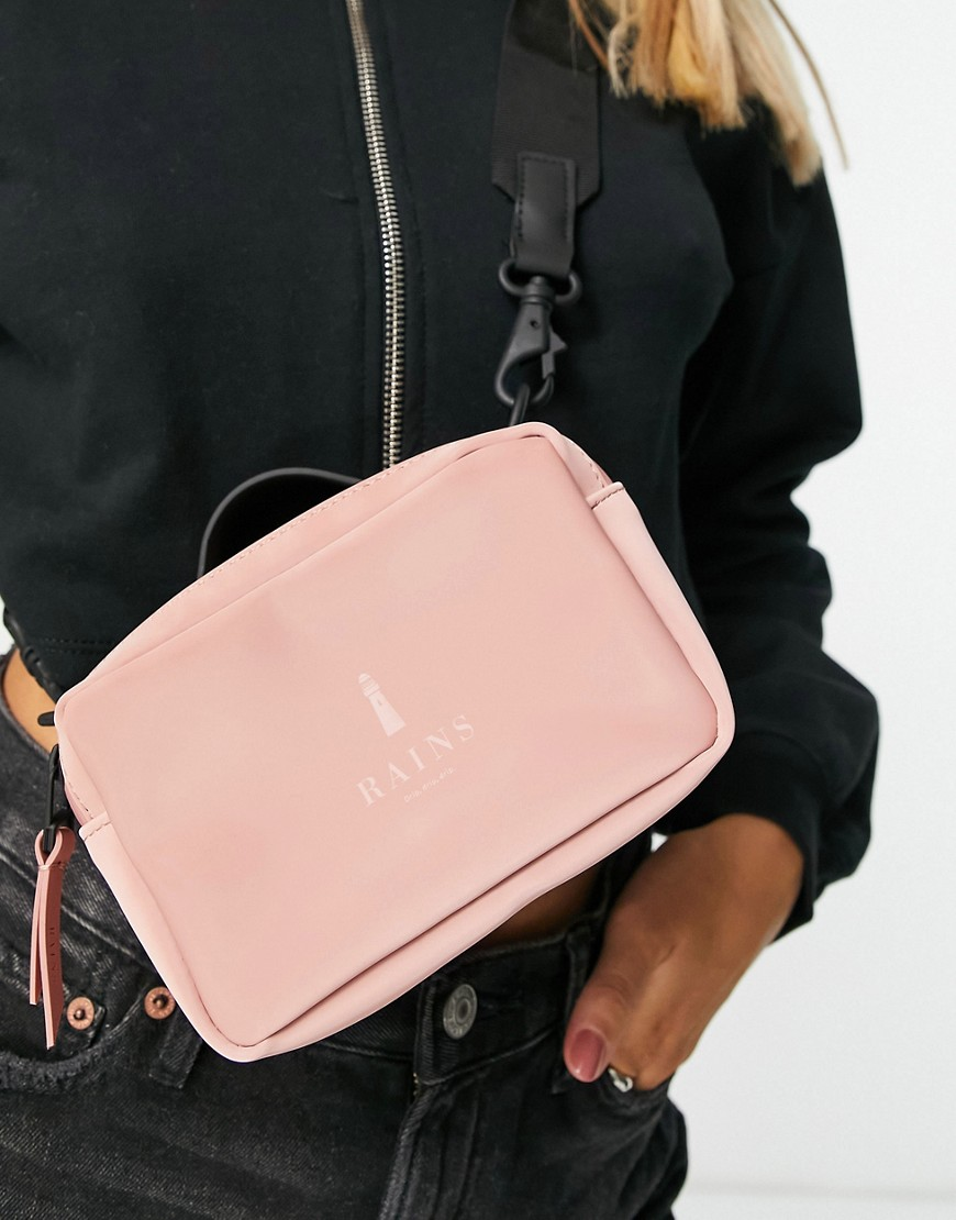 Rains 1382 Box crossbody waterproof bag-Pink