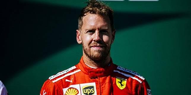 Hasil F1 GP Belgia 2018 - Diwarnai Insiden Tabrakan Beruntun, Sebastian Vettel Berhasil Finis Terdepan