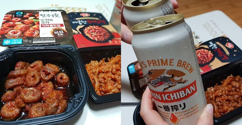 韓國超商下酒夜
