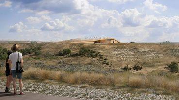 現代美國塑造者羅斯福紀念圖書館浩蕩完工,與壯麗山巒美景宛若一體