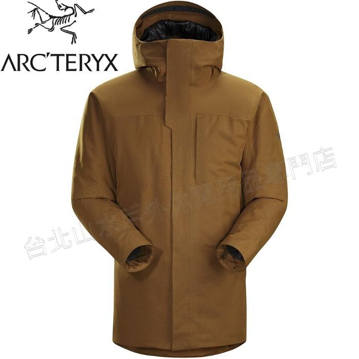 Arcteryx 始祖鳥 Therme 雪衣/防水大衣/羽絨衣/出國旅遊 男GTX羽絨/化纖複合12888 馴鹿棕