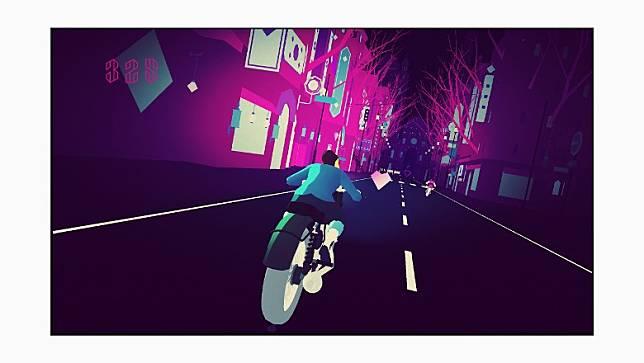 《Sayonara Wild Hearts》是一款流行音樂專輯電子遊戲,畫面華麗超現實,讓玩家沉醉於精彩的動態效果之中。(互聯網)