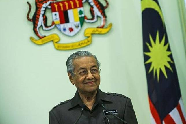 Mahathir Mohamad, Perdana Menteri Malaysia. Sumber: thestar.com.my