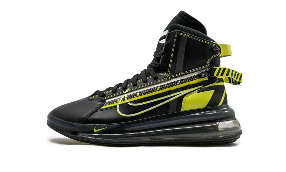 The Nike Air Max 720 Saturn brings basketball styling to a lifestyle sneaker. Launched in conjunctio