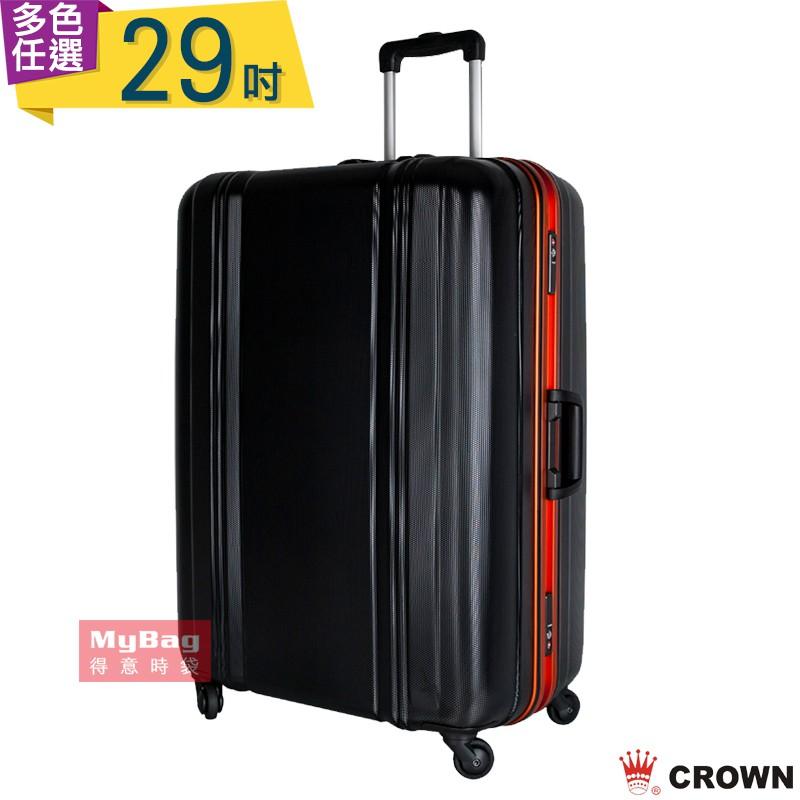 品牌:CROWN型號:C-F2808材質:PC塑膠尺寸:29吋 高 78.3 * 寬 55.9 * 厚 30 cm容量:106 L重量:5.91 KG載重:23 KG●多段式拉桿設計●TSA海關安全鎖