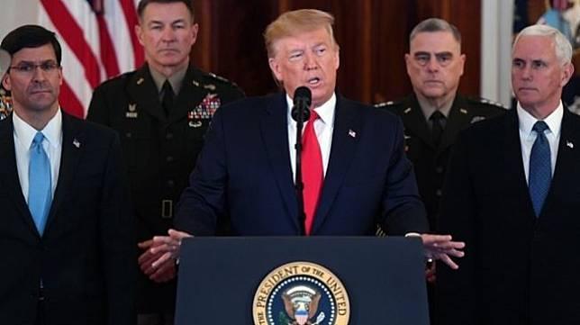 Presiden Amerika Serikat Donald Trump. (AFP / Saul Loeb)