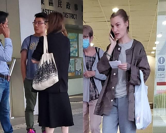 徐煒榤(左圖中)及NUNAN Rebecca Louise(右圖)。蕭文軒攝