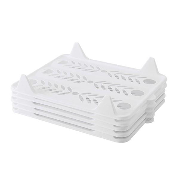 全新環保PP材質,韌性好,耐高溫簡約一體化設計,一衣一板快速收納方便提手設計,方便抽取移動,整齊不亂顏色: 白色、黑色、灰色材質:環保PP塑膠規格: 大號37.5x29CM 小號33x25.5CM (