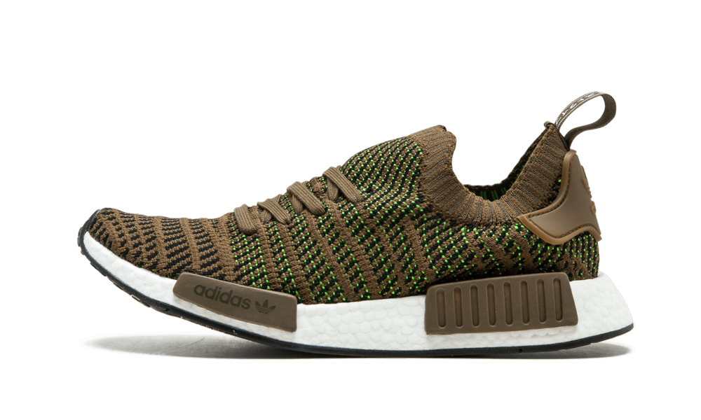 The Adidas Nmd R1 Stlt Is An Updated Take On The Original Nmd R1 Model. This Pair Sports A Trace Oli
