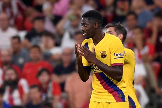Barcelona Marah, Dembele Main-main dengan Cedera