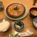 柳川鍋定食 - 実際訪問したユーザーが直接撮影して投稿した新宿懐石料理・割烹新宿割烹 中嶋の写真のメニュー情報