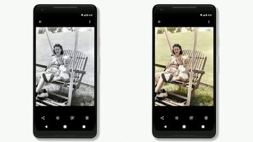 Google Photos 加入 AI 智慧,幫你把黑白照片變彩色