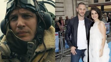 英國男星湯姆哈迪即將再度當爸,老婆傳出二度有喜!